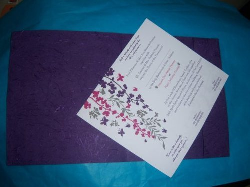 Silk Handmade Paper Wedding Cards With Printing At Rs 67 Piece S