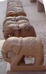 Sandstone Elephant