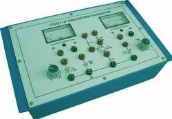 Study Of Unijunction Transistor (U. J. T.)