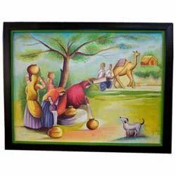 Village Women Painting Indian Art Paintings Thane Frames N