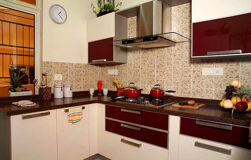 Modular Kitchens Designer Straight Modular Kitchens Service Provider From Chennai