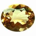 Citrine Oval Cut Gemstone