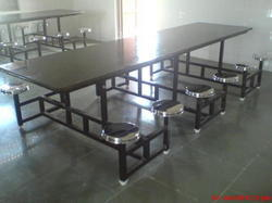 SG Fabs Brown Industrial Dining Table with Granite Top, For Restaurant, Size/Dimension: Standard