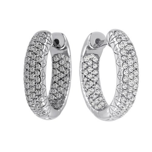 e109b9389 Diamond Earring - Elegant And Stylish Pave Set Diamond Chandelier Earrings  Manufacturer from Surat
