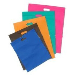 Non-Woven Die Cut Carry Bags