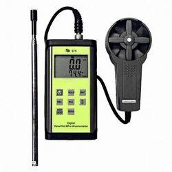 Vane & Hot Wire Velocity Meter
