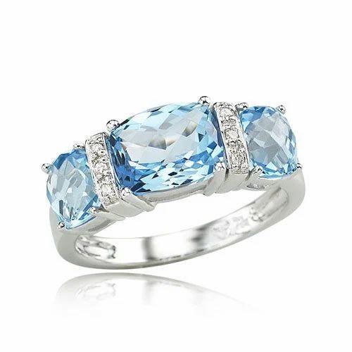 Blue Topaz Wedding Ring 50 Popular