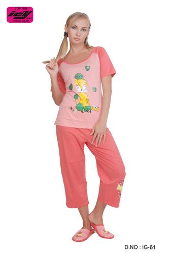 Ladies Pajama Sets - Ladies Pajama Exporter from Mumbai d29490316