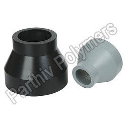 Black and Grey PP Reducers