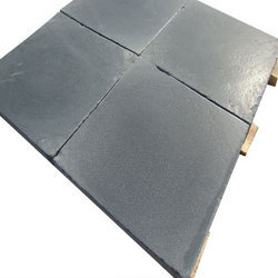 Sandblasting Black Limestone, Size: 24 X 24 Inch
