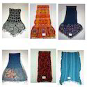 Woolen Lycra Shawls, Stoles and Scarves