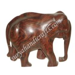 Antique Carving Wooden Elephant