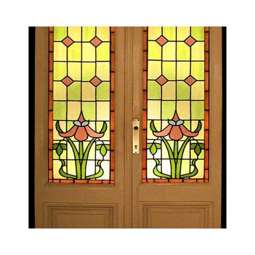 Stained glass cost per square foot in india for Window glass design in kerala