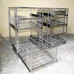 Stainless Steel Kitchen Structures