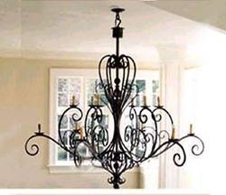 Wrought iron chandelier manufacturers suppliers traders of wrought iron chandelier lamp aloadofball Images