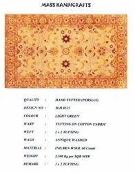 Hand Loom Carpet (Normal)-THE DYE
