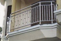 Ss outdoor balcony railings stainless steel railing for Terrace railings design philippines