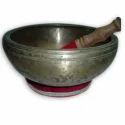 Extremely Rare Tibetan Singnig Bowl