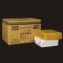 Pale Yellow Coloured bricks Industrial Grade Personal Hygiene Adhesives