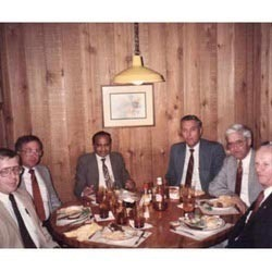 L.D.Patel At Lunch In USA