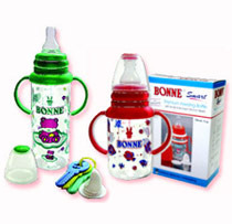 Round Poly-carbonate Feeding Bottle