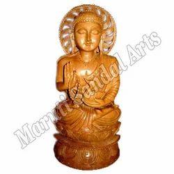Sandal Wooden Buddha Statue