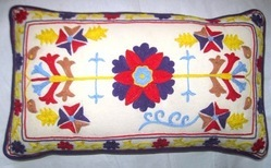 Decorative Suzani Floor Pillow