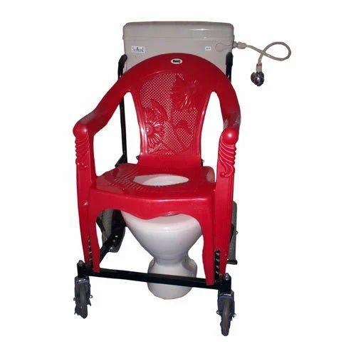 Commode Wheelchair - Plastic Chair Model - Manoj Enterprises ...
