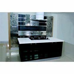 Black Modular Kitchen