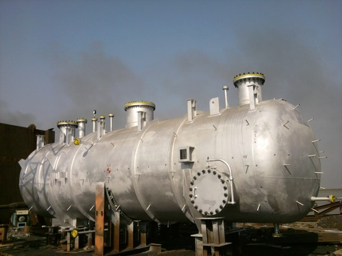 HP Flare Knockout Drum, Chemical Reactors And Process