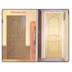 Slide & Fold Coated PVC Panel Door, For Bathroom, Interior
