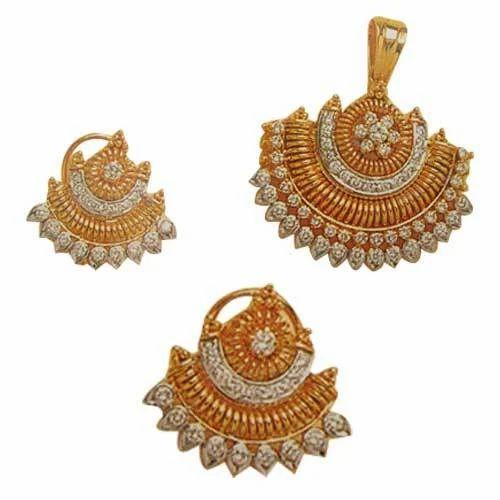 Gold Jewellery Designer Oval Ring Manufacturer Exporter from