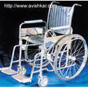Wheel Chair Folding Deluxe