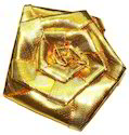 Golden Ribbon Flower