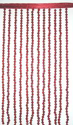 Scarlet Berry Beaded Curtain