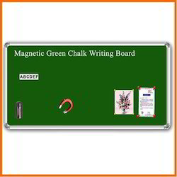 Magnetic Green Chalk Writing Board