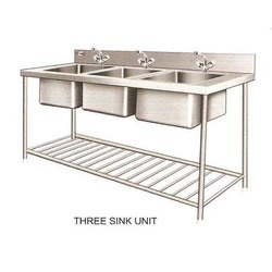 Three Sink Units