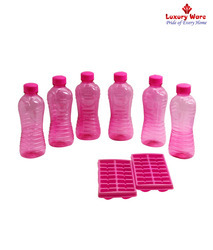 Pink Ice Trays/ Fridge Bottles