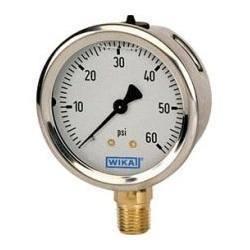 Wika Fibbig And H Guru Pressure Gauge ( Industrial Air