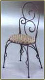 Wrought Iron-Wrought Chair-WC