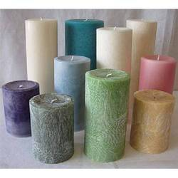 Multicolor Wax Candles