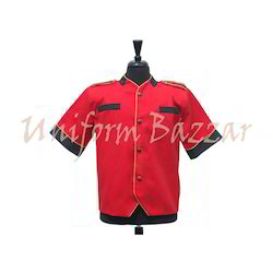 Red Bell Boy Uniform BBU-11