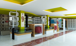 Showroom Interior Decoration Service Provider from Kolkata