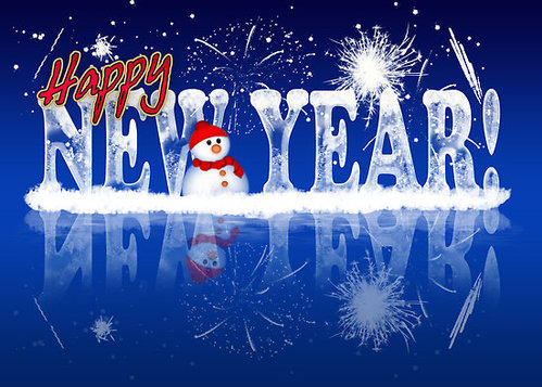Happy New Year Greeting Card 54