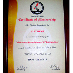 Coimbatore Association Of UPS & Stabilizer