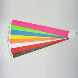 Paper Tyvek Wrist Bands