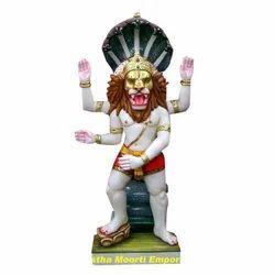 Marble Narsimha God Statues