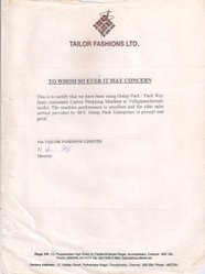 Tailor Fashion Ltd.