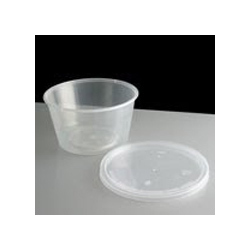 Plastic Round Take Away Containers