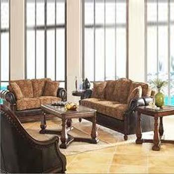 Stylish Wooden Sofa Set